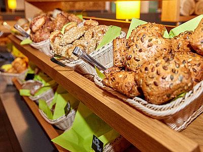 frische Brot- und Gebäcksorten