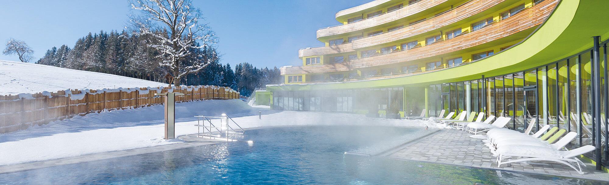 DAS SIEBEN Gesundheits-Resort im Winter
