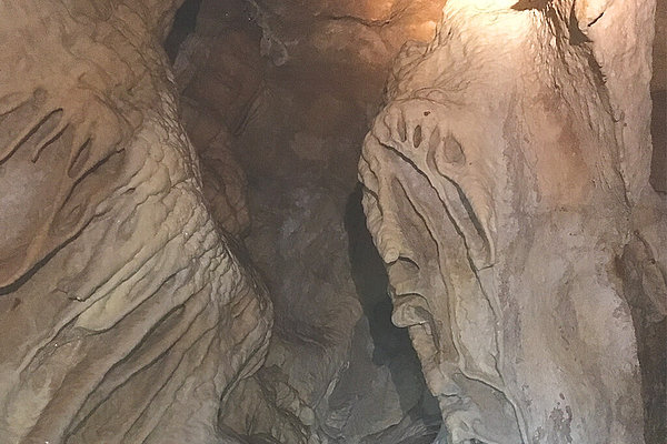 Hundalm Eis- und Tropfsteinhöhle / Christuskopf