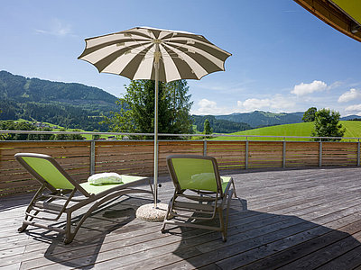 Modern Suite Terrasse