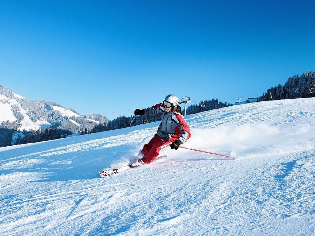 SkiWelt Wilder Kaiser - Brixental - Abfahrt