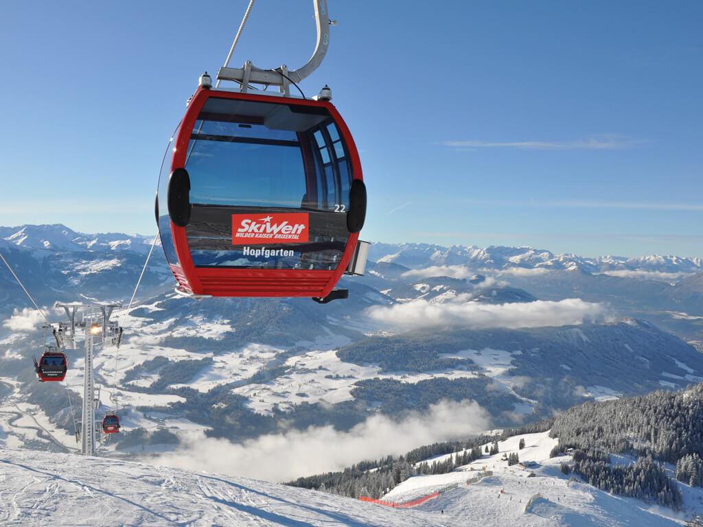 SkiWelt Wilder Kaiser Brixental - Gondel